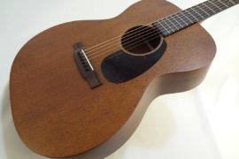 C.F. Martin 000-15M Mahogany Guitar Front Angled Close Up View
