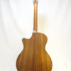 C.F. Martin GPC-16E Acoustic Guitar Back View