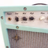Retrofier MCM All Analog Amp Aqua Knobs Left