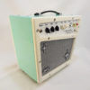 Retrofier MCM All Analog Guitar Amp - Cream Side View