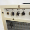Retrofier MCM All Analog Guitar Amp - Cream Left Knobs