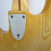 Fender Jazz Bass 1976 Seriel Number View