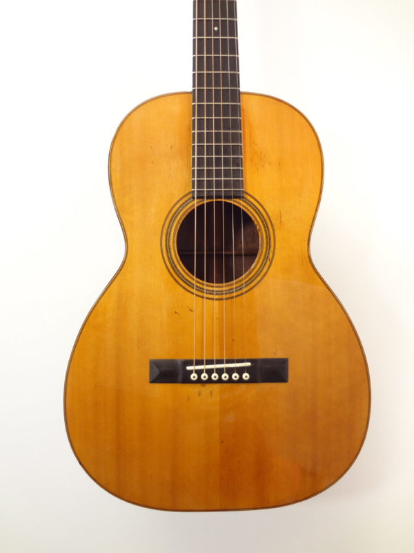 1927 Vintage C.F. Martin 00-21 Brazilian Rosewood Acoustic Guitar Front Detail