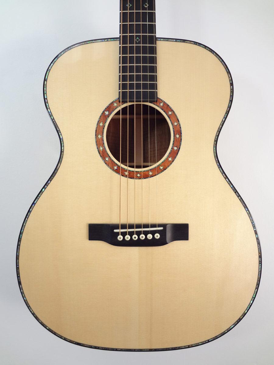 C F  Martin Limited Edition Koa Acoustic Guitar True North