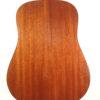 C.F. Martin D18 D-18 Acoustic Guitar Back Close Up