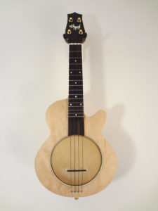 Jere Canote Little Wonder Lil' Buddy Banjo Uke C-2157 Full Front View