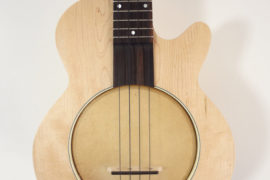 Jere Canote Little Wonder Lil' Buddy Banjo Uke C-2157 Front View