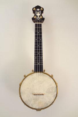 Jere Canote Small Wonder Banjo Uke C-2164C Full Front