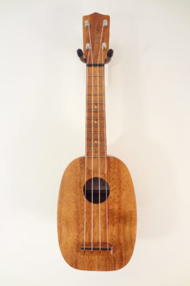 Kamaka Vintage 1968 Pineapple Ukulele Full Front VIew