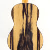 Ohana Black & White Ebony Concert Uke CK-15BWE Back View