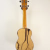 Ohana Ebony Soprano Uke SK-15BWE Full Back View