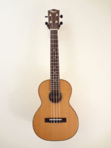 Ohana Cedar Willow Tenor Uke TK-50WG Full Front View