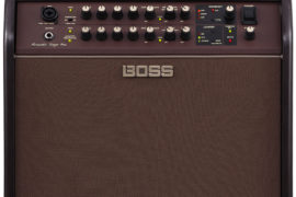 Boss Acoustic Singer Pro Amplifier Front