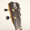 Kanile'a K-1B-G Glossy Baritone Koa Uke Headstock