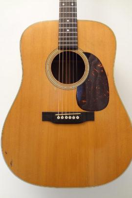 C.F. Martin 1970 D-28 Acoustic Guitar Front Closeup