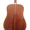 C.F. Martin 1970 D-28 Acoustic Guitar Back Closeup