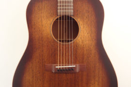 C.F. Martin DSS-15M Acoustic Guitar Front Closeup