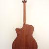 C.F. Martin GPCPA Shaded Acoustic Guitar Back
