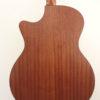 C.F. Martin GPCPA Shaded Acoustic Guitar Back Closeup