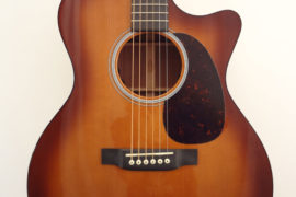 C.F. Martin GPCPA Shaded Acoustic Guitar Front Closeup