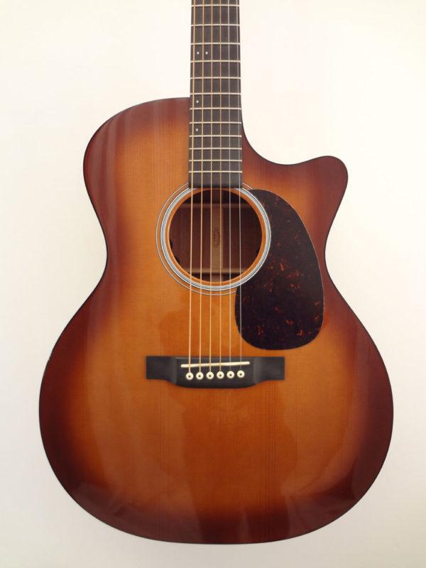 C.F. Martin GPCPA Shaded Acoustic Guitar Front Closeup