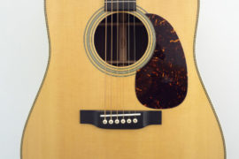 C.F. Martin HD-28 Acoustic Guitar Front Closeup