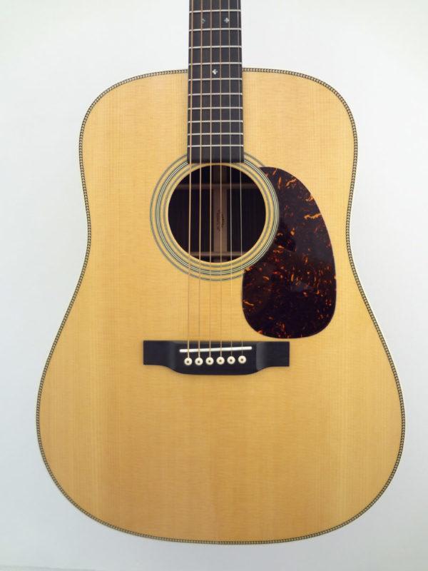 C.F. Martin HD-28 Acoustic Guitar Front Closeup