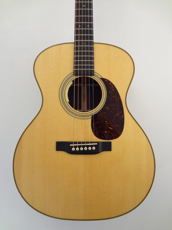 C.F. Martin OM18ELRB Acoustic Guitar Front Closeup