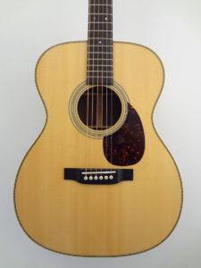 C.F. Martin OM28 Acoustic Guitar Front Closeup