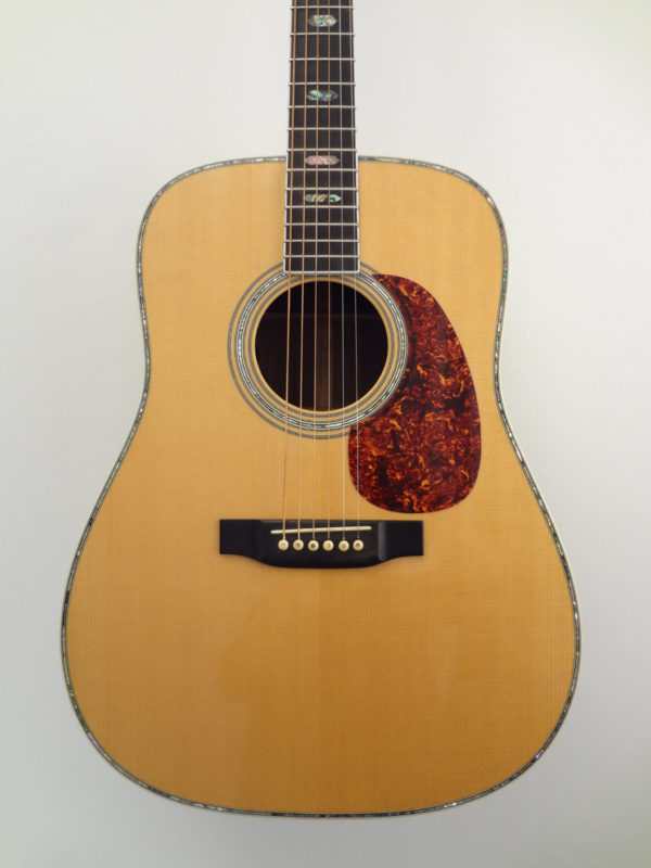 USED C.F. Martin 1990 D-41 Acoustic Guitar Front Closeup