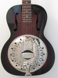 Recording King Rattlesnake RR-41-VS Resonator Guitar Single Cone