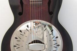 Recording King Rattlesnake RR-41-VS Resonator Guitar Single Cone