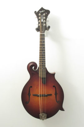 Weber Red Rocks F-Style Mandolin Front View