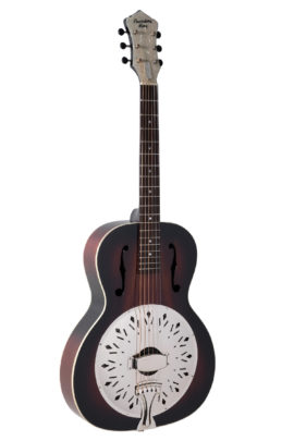 Recording King Rattlesnake Single Cone Resonator Guitar - Gloss Finish