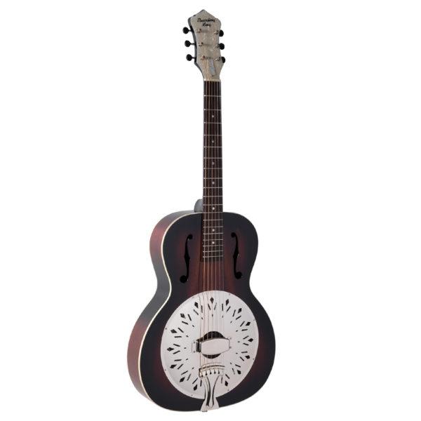 Recording King Rattlesnake Single Cone Resonator Guitar - Gloss Finish