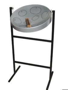 Jumbie Jam Steel Pan Drum Kit with Tall Tube Stand