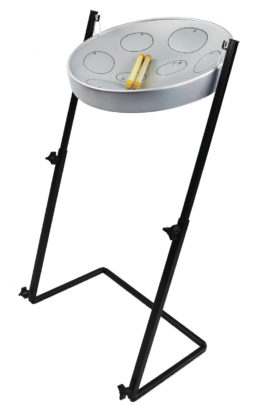 Jumbie Jam Steel Pan Drum Kit with Z Metal Stand and Mallets