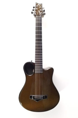 C-3096 Emerald X7-Artisan 6-String Short Scale Carbon Fiber Guitar