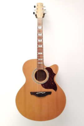 C-3149 Takamine EG523SC Jumbo Acoustic Guitar with Pickup