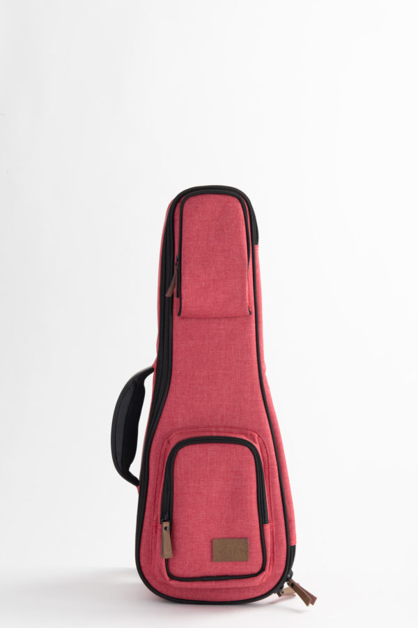 Sonoma Coast Deluxe Ukulele Bag - Red
