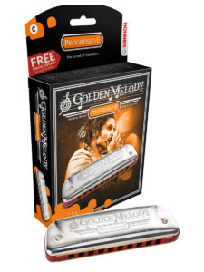 Hohner Golden Melody Harmonica