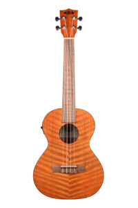 Kala Exotic Mahogany Tenor Uke with EQ