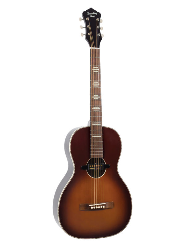 Recording King RPS-7-E-TS Acoustic Guitar with Gold Foil Pickup
