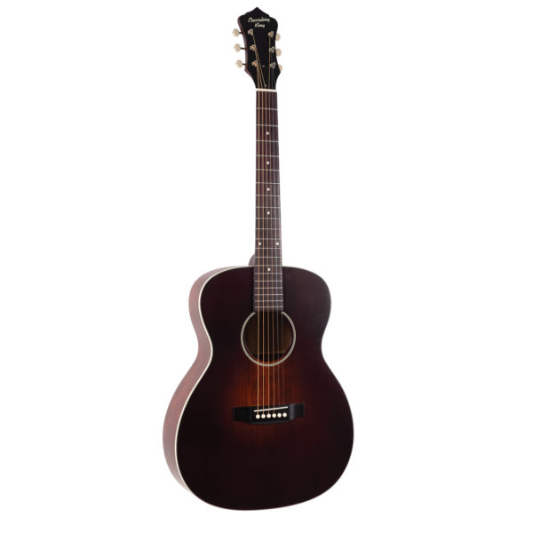 ROS-11-FE3-TBR Recording King All Solid Sunburt 000 Acoustic Guitar with Pickup