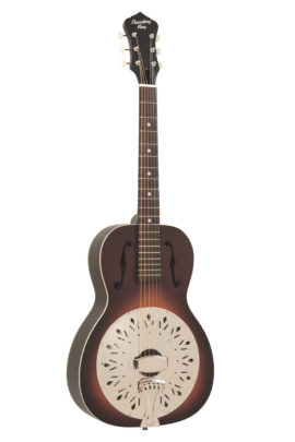 Recording King Dirty 30s Resonator Guitar, 0 Body Size with Sunburst Matte Finish
