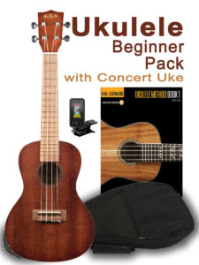 Beginner Uke Pack in Concert