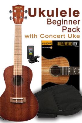 Beginner Uke Pack in Concert