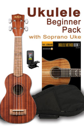 Beginner Uke Pack- Soprano