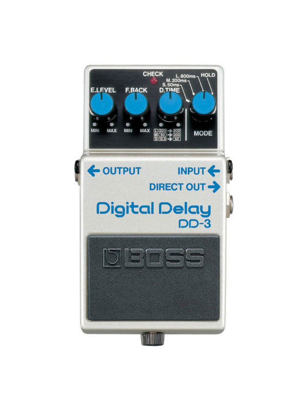 DD-3 Boss Digital Delay Pedal