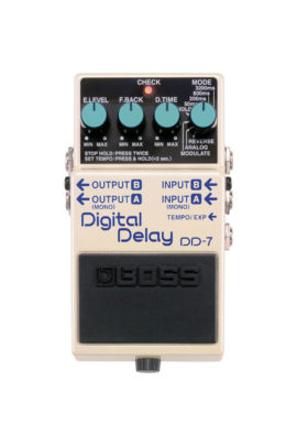 DD-7 Boss Digital Delay Pedal